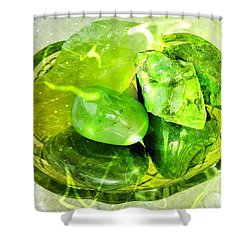 Magical Gemstones Shower Curtain