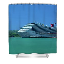 Magical Getaway Shower Curtain