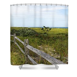 Magical Landscape Shower Curtain by Michelle Wiarda