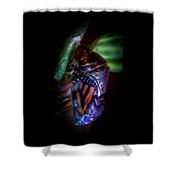 Magical Monarch Shower Curtain by Karen Wiles