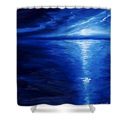 Magical Moonlight Shower Curtain by James Christopher Hill