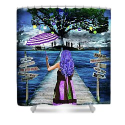 Magical New Orleans Shower Curtain by Tammy Wetzel