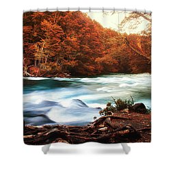 Magical Patagonia Shower Curtain