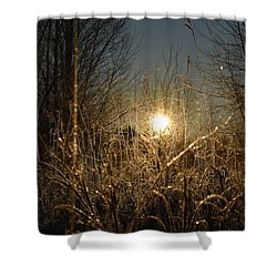 Magical Sunrise Shower Curtain