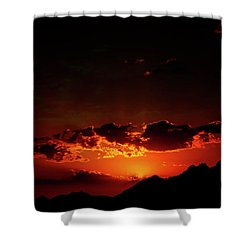 Magical Sunset In Africa 2 Shower Curtain