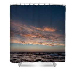 Shower Curtain featuring the photograph Magical Sunset by Laura Melis