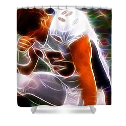 Magical Tebowing Shower Curtain