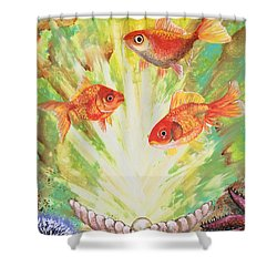 Magical World Shower Curtain by Jacqueline Martin