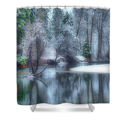 Magical Touch To Yosemite Shower Curtain