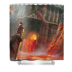 Magmatic Insight Shower Curtain