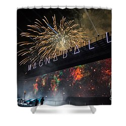 Magnaball Finale Shower Curtain