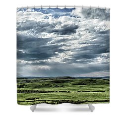 Magnetic View Shower Curtain