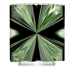Magnetism Shower Curtain by Will Borden