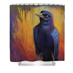 Magnificent Bird Shower Curtain