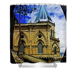 Shower Curtain featuring the photograph Magnificent Church Of Biblian by Al Bourassa