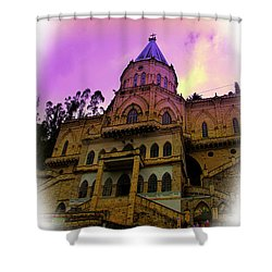 Shower Curtain featuring the photograph Magnificent Church Of Biblian II by Al Bourassa