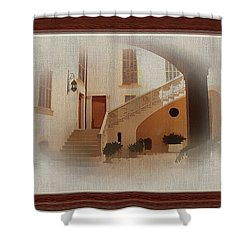 Magnificent Mexican Hacienda Shower Curtain