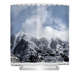 Magnificent Mountains In Telluride In Colorado Shower Curtain