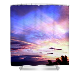 Magnificent Sunset Shower Curtain