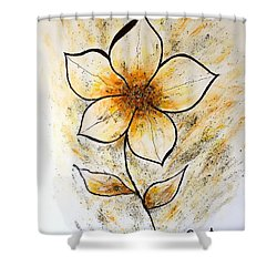 Magnolia Art-flower Shower Curtain