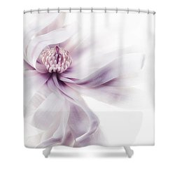 Magnolia Breeze Shower Curtain