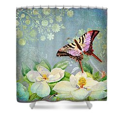 Magnolia Dreams  Shower Curtain