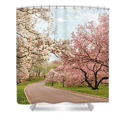Magnolia Grove Shower Curtain by Jessica Jenney
