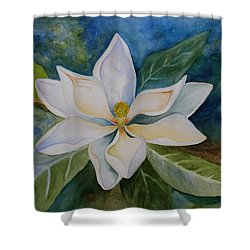 Magnolia Shower Curtain by Kerri Ligatich