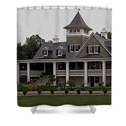 Magnolia Plantation Home Shower Curtain
