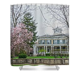 Magnolia Time Shower Curtain by David Bearden