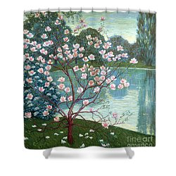 Magnolia Shower Curtain by Wilhelm List