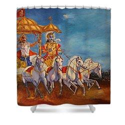 Mahabharat Shower Curtain