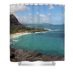 Mahapuu Lookout 2 Shower Curtain