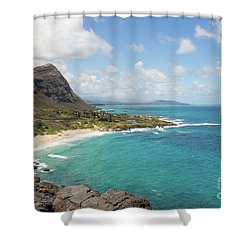 Mahapuu Lookout Shower Curtain