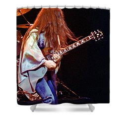 Mahogany Rush Seattle #2 With Text Shower Curtain