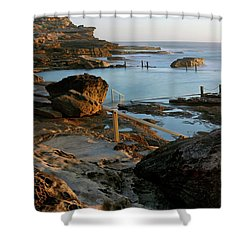 Mahon Pool Shower Curtain