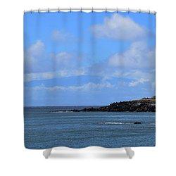 Shower Curtain featuring the photograph Mahukona by Pamela Walton