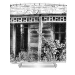 Shower Curtain featuring the photograph Maiden History 2 by Susan Kinney