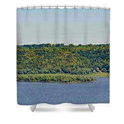 Maiden Rock, Wi Shower Curtain