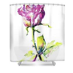 Maiden Rose Shower Curtain