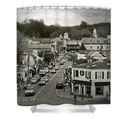 Main Street, Port Jefferson, Ny Shower Curtain