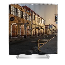 Main Street Sunday Shower Curtain