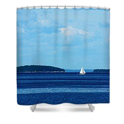 Maine Daze Shower Curtain