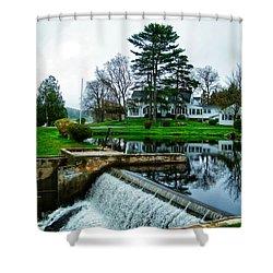 Maine House  Shower Curtain