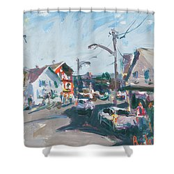 Maine Landscape Art Shower Curtain