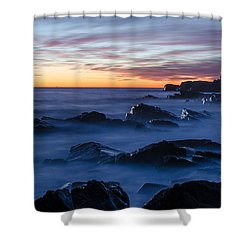Shower Curtain featuring the photograph Maine by Paul Noble