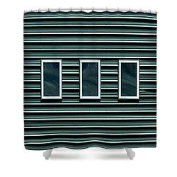 Maine Windows 2 Shower Curtain
