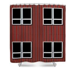 Maine Windows 3 Shower Curtain