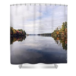 Mainer's Fall Shower Curtain
