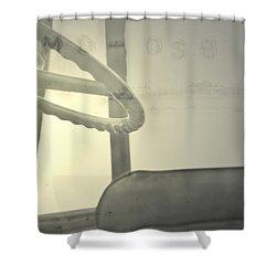 Maintenance  Shower Curtain by Mark Ross